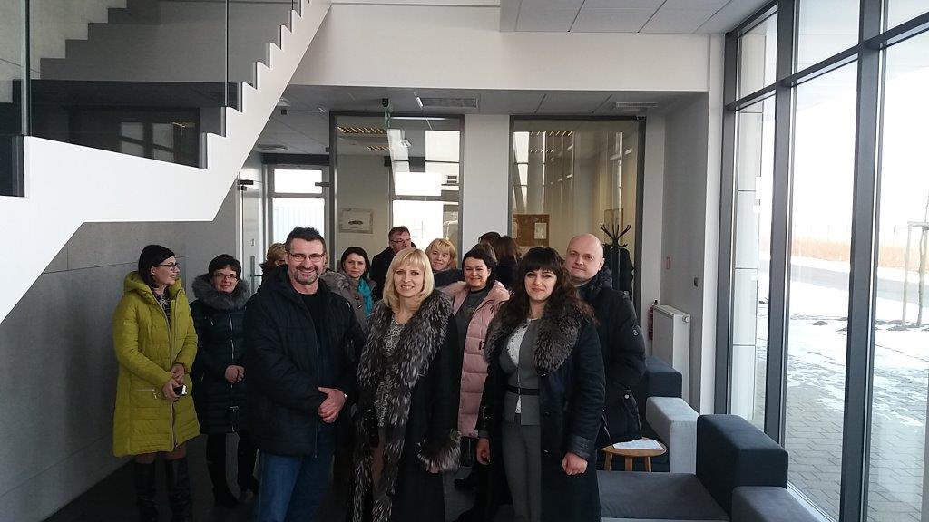 Urząd Gminy w Choceniu - Delegacja z Ukrainy u naszych ...